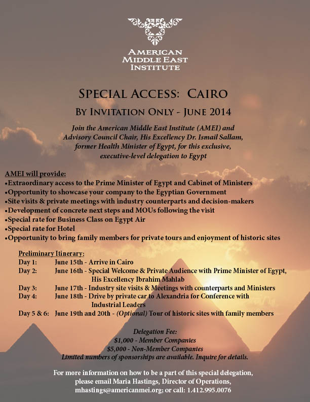 Special Access: Cairo