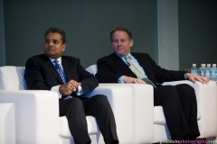 Paddy Padmanathan, President & CEO of ACWA Power International and David Porges, Chairman & CEO, EQT